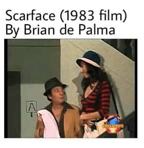 Scarface, Espanol, and International: Scarface (1983 film)  By Brian de Palma