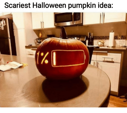 Halloween, Pumpkin, and Idea: Scariest Halloween pumpkin idea: