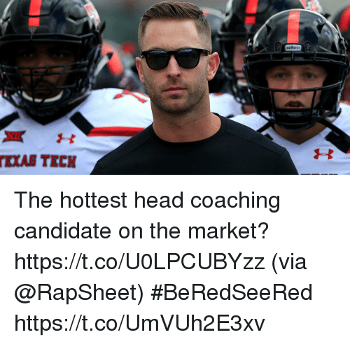 Head, Memes, and 🤖: schutt The hottest head coaching candidate on the market? https://t.co/U0LPCUBYzz (via @RapSheet) #BeRedSeeRed https://t.co/UmVUh2E3xv