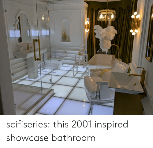 inspired: scifiseries:  this 2001 inspired showcase bathroom