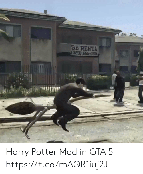 mod: SE RENTA  [323) 555-003 Harry Potter Mod in GTA 5 https://t.co/mAQR1iuj2J