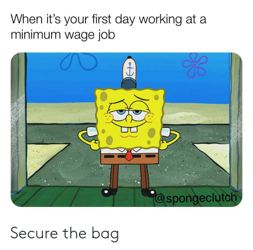 Secure: Secure the bag