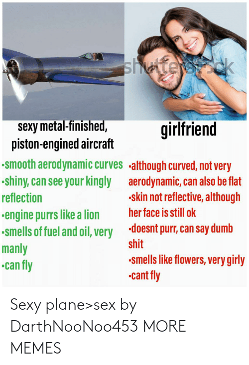 Sex: Sexy plane>sex by DarthNooNoo453 MORE MEMES