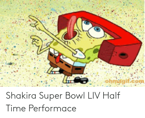 bowl: Shakira Super Bowl LIV Half Time Performace