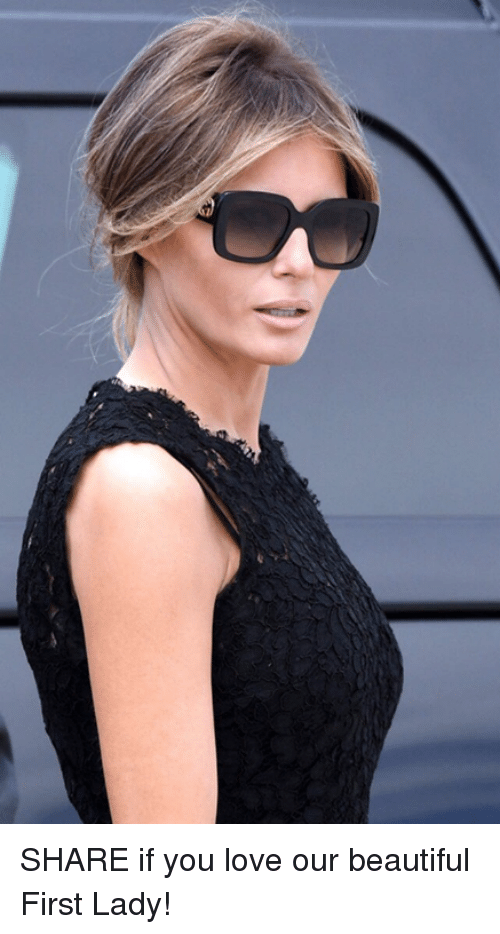 Beautiful, Love, and First: SHARE if you love our beautiful First Lady!
