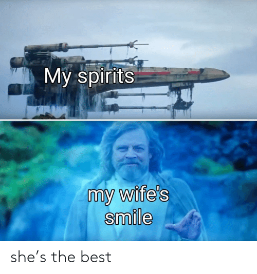 she: she's the best