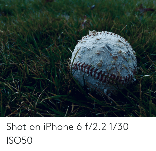 Iphone 6: Shot on iPhone 6 f/2.2 1/30 ISO50