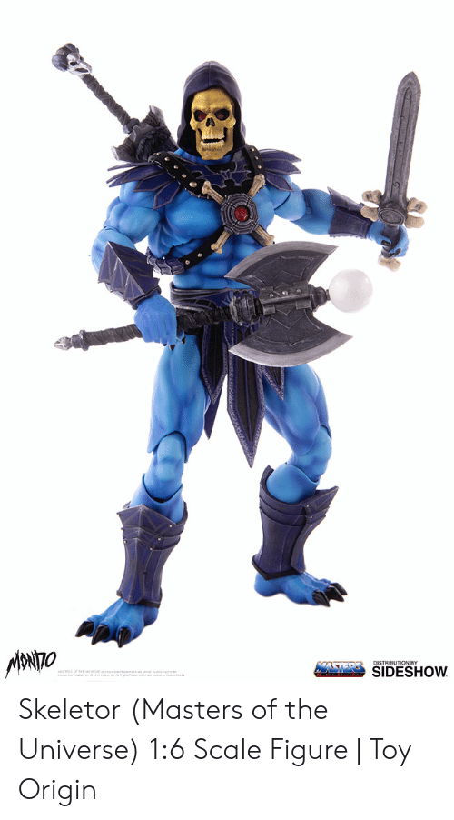 Skeletor Masters: SIDESHOW Skeletor (Masters of the Universe) 1:6 Scale Figure | Toy Origin