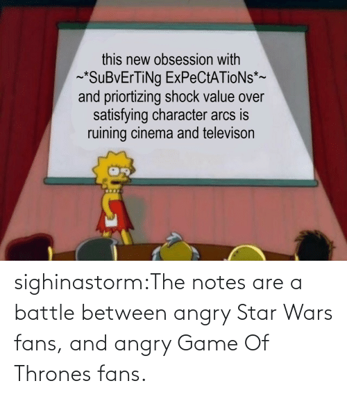 Game of Thrones, Star Wars, and Target: sighinastorm:The notes are a battle between angry Star Wars fans, and angry Game Of Thrones fans.