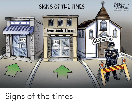 the times: Signs of the times