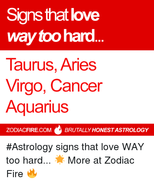 cancer sign and love