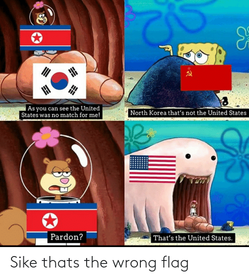 sike: Sike thats the wrong flag