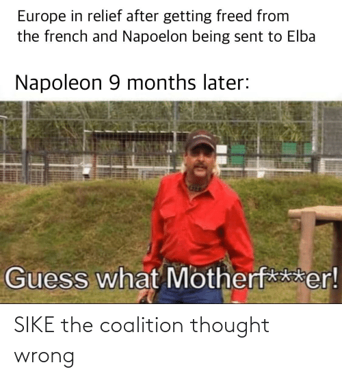 sike: SIKE the coalition thought wrong
