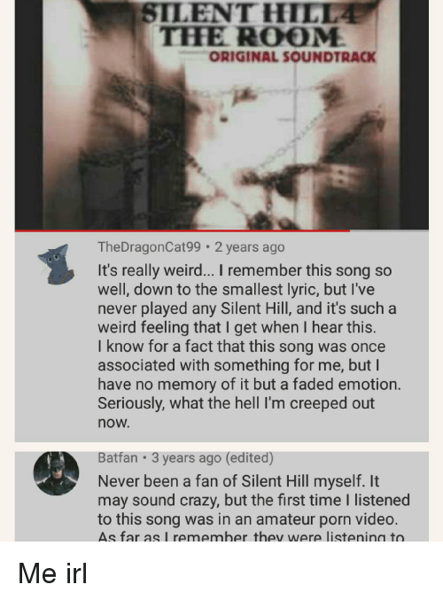 cfeb754aec Crazy, Weird, and Faded: SILENT HILL THHE ROOM ORIGINAL SOUNDTRACK  TheDragonCat99 2 years