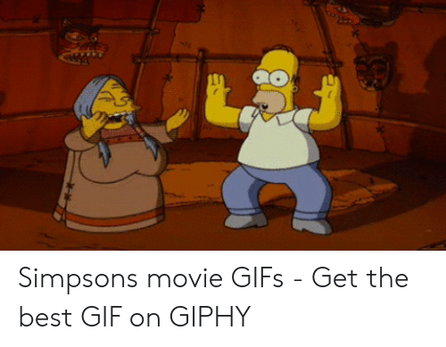 Simpsons Movie Gifs Get The Best Gif On Giphy Gif Meme On Awwmemes Com