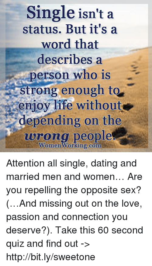 dating and single