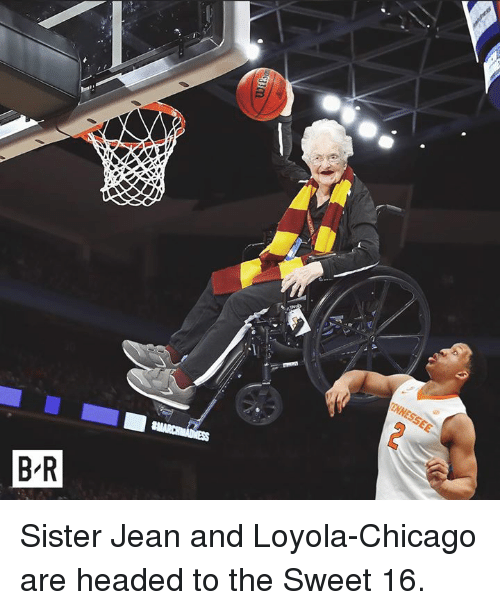 loyola: Sister Jean and Loyola-Chicago are headed to the Sweet 16.