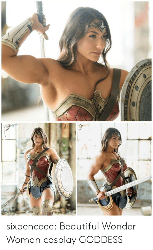 Wonder Woman: sixpenceee:  Beautiful Wonder Woman cosplay  GODDESS