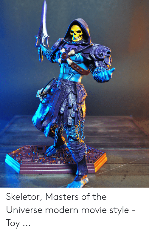 Skeletor Masters: Skeletor, Masters of the Universe modern movie style - Toy ...