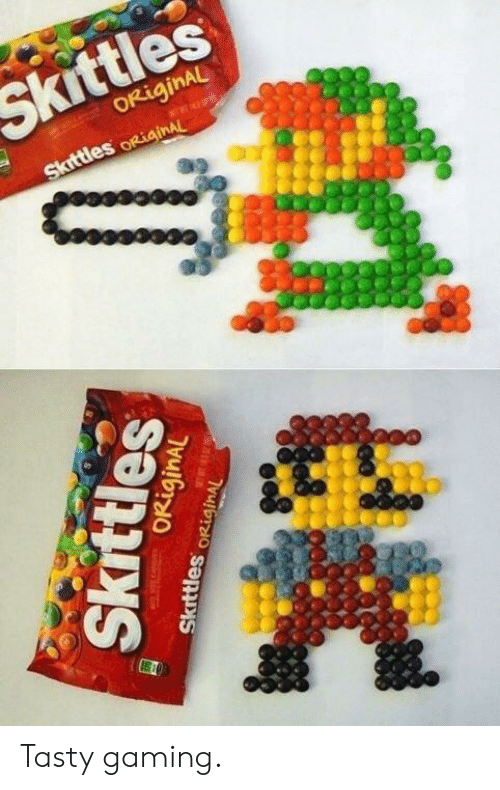 Gaming, Skittles, and Tasty: Skittles Tasty gaming.