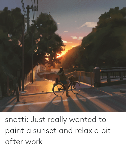 Paint: snatti:   Just really wanted to paint a sunset and relax a bit after work