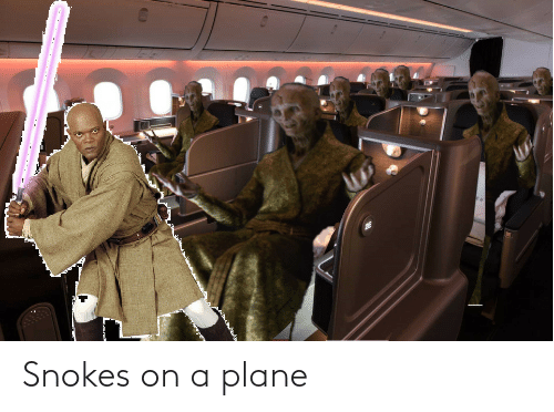 On A: Snokes on a plane