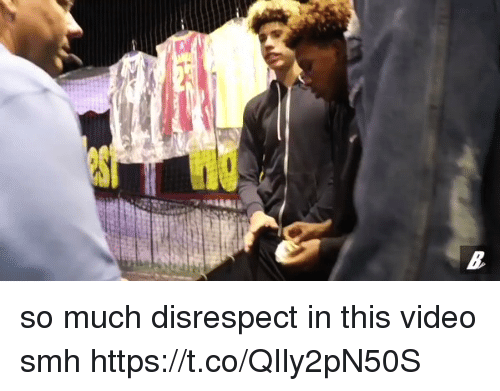 Funny, Smh, and Video: so much disrespect in this video smh  https://t.co/QIly2pN50S