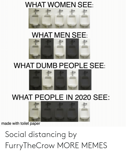 dank: Social distancing by FurryTheCrow MORE MEMES