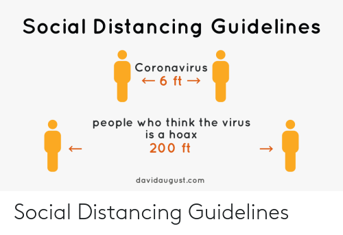 social: Social Distancing Guidelines
