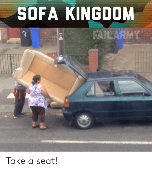 sofa: SOFA KINGDOM  FAILARMY Take a seat!
