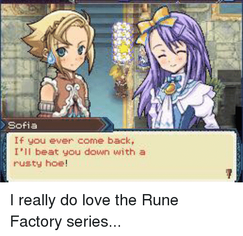Same sex dating rune factory 4