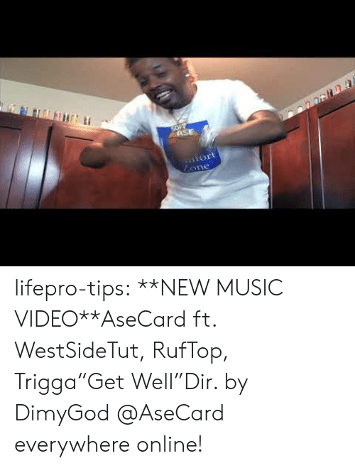 "Music Video: SOFY  ASE  iort  Lone lifepro-tips:  **NEW MUSIC VIDEO**AseCard ft. WestSideTut, RufTop, Trigga""Get Well""Dir. by DimyGod   @AseCard everywhere online!"