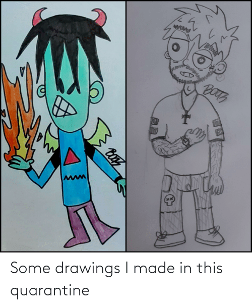 Drawings: Some drawings I made in this quarantine
