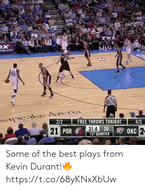 kevin: Some of the best plays from Kevin Durant!🔥 https://t.co/68yKNxXbUw