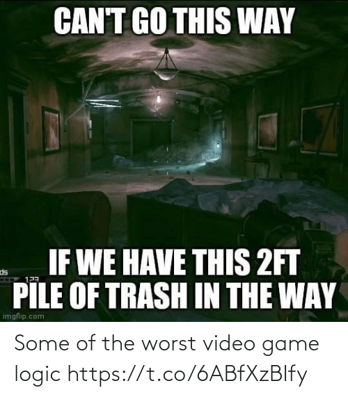 video game: Some of the worst video game logic https://t.co/6ABfXzBIfy