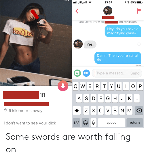 worth: Some swords are worth falling on