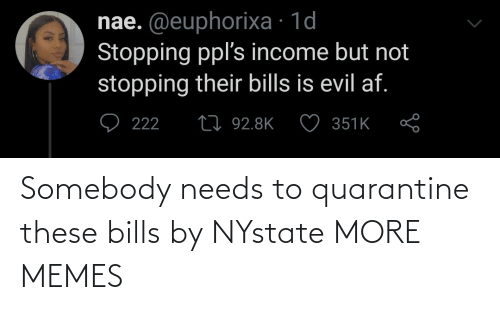 Bills: Somebody needs to quarantine these bills by NYstate MORE MEMES