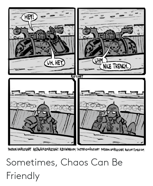 chaos: Sometimes, Chaos Can Be Friendly