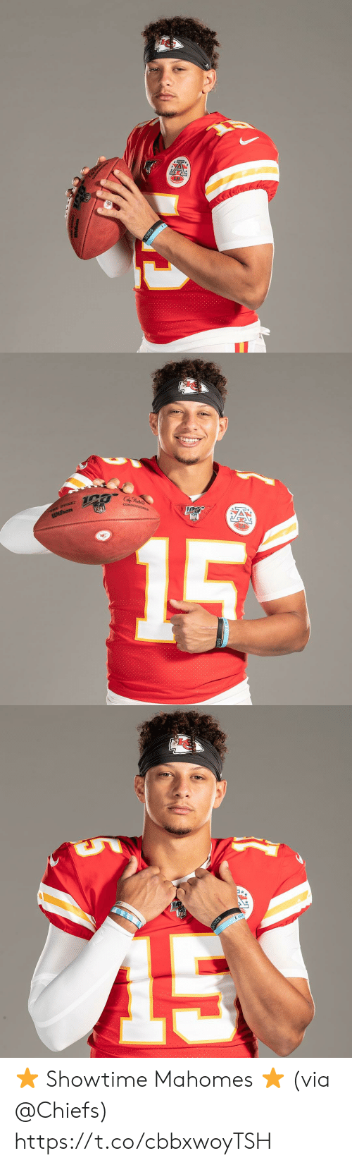 Memes, Nfl, and Chiefs: SON   rNE DURe  wilson  NFL  INOISSINNOs  15  A   SONNS ⭐️ Showtime Mahomes ⭐️  (via @Chiefs) https://t.co/cbbxwoyTSH