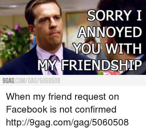 🐣 25+ Best Memes About Sorry I Annoyed You With My Friendship