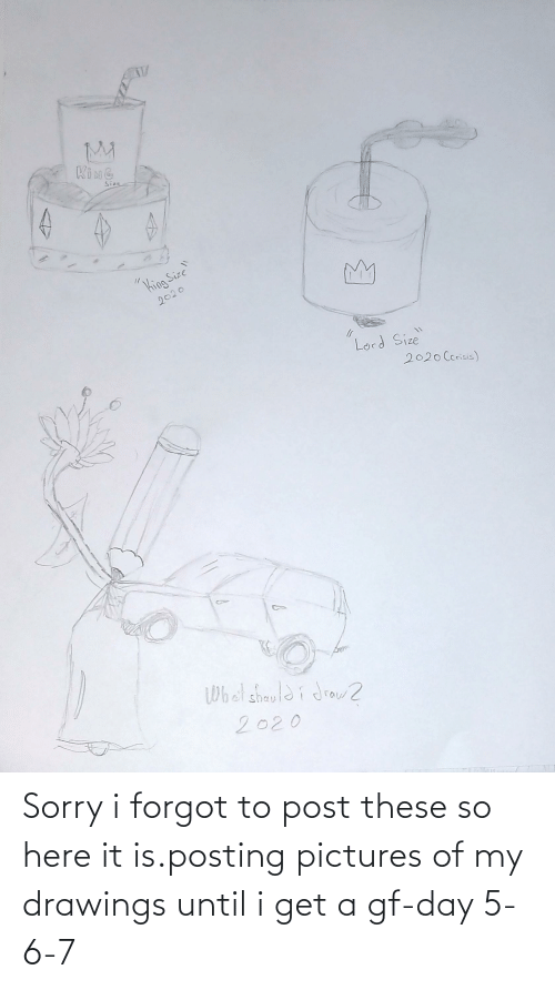 Drawings: Sorry i forgot to post these so here it is.posting pictures of my drawings until i get a gf-day 5-6-7