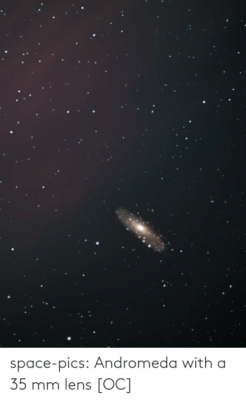 andromeda: space-pics:  Andromeda with a 35 mm lens [OC]