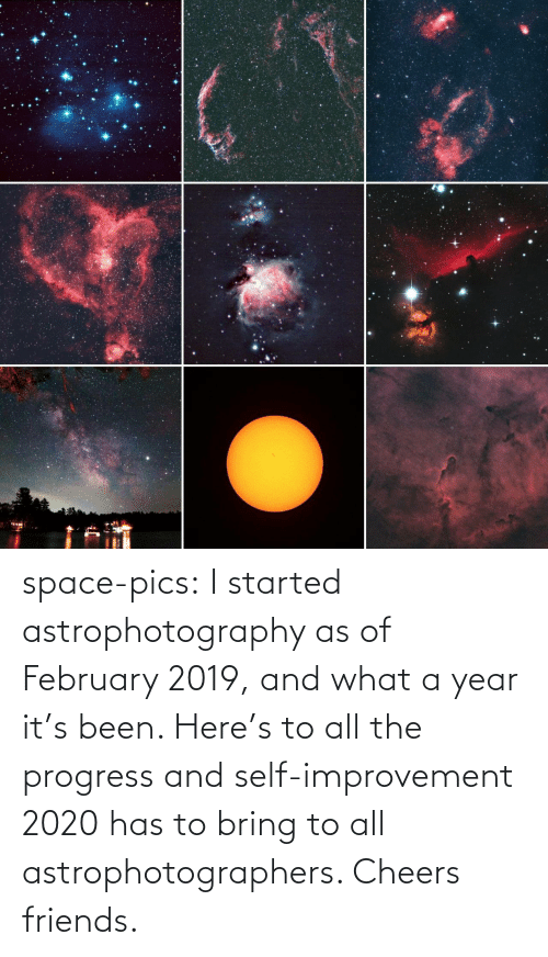 Space: space-pics:  I started astrophotography as of February 2019, and what a year it's been. Here's to all the progress and self-improvement 2020 has to bring to all astrophotographers. Cheers friends.