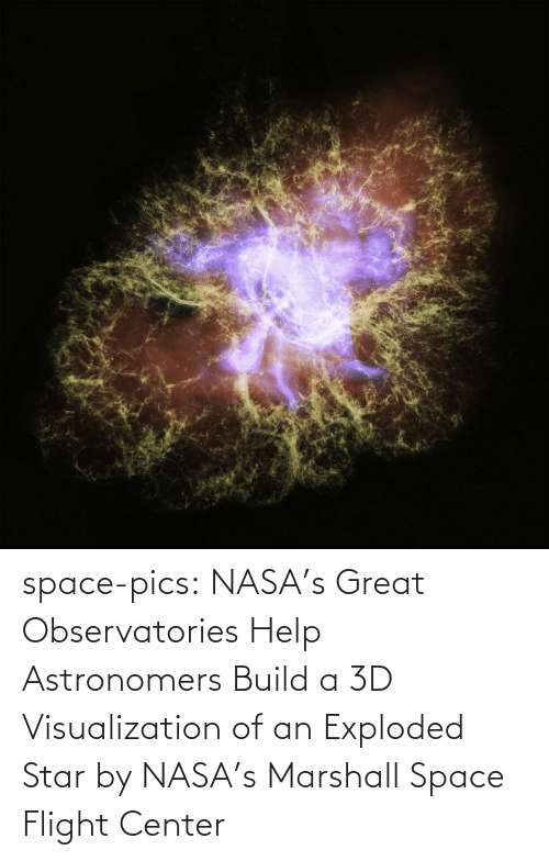 NASA: space-pics:  NASA's Great Observatories Help Astronomers Build a 3D Visualization of an Exploded Star by NASA's Marshall Space Flight Center