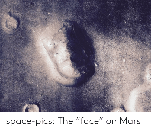 """Tumblr, Blog, and Mars: space-pics:  The """"face"""" on Mars"""