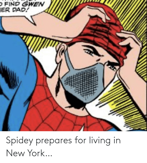 New York: Spidey prepares for living in New York…