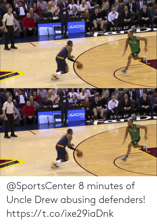 uncle: @SportsCenter 8 minutes of Uncle Drew abusing defenders!   https://t.co/ixe29iaDnk