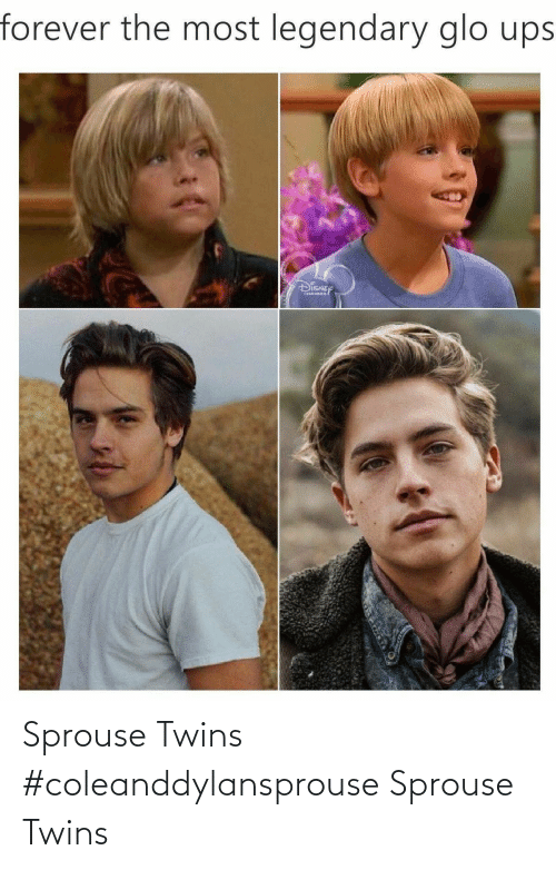 Twins: Sprouse Twins #coleanddylansprouse Sprouse Twins