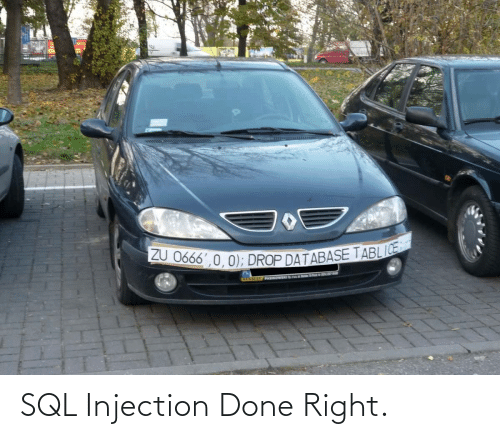 sql: SQL Injection Done Right.