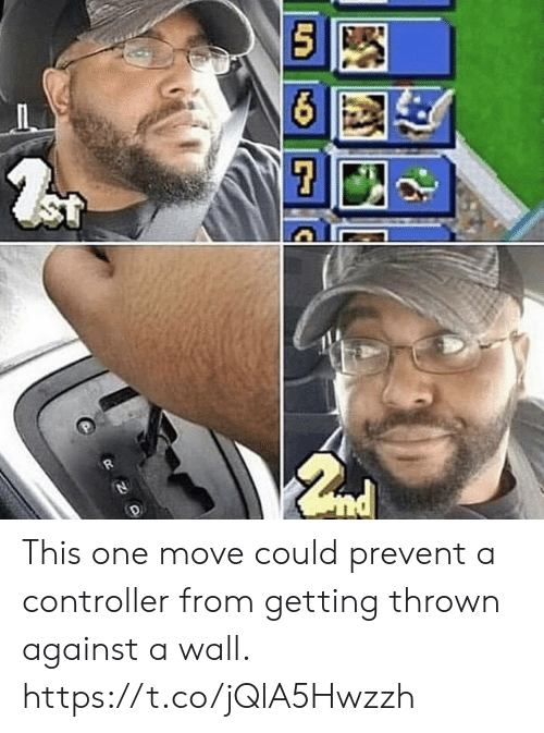 Video Games, One, and Move: ST This one move could prevent a controller from getting thrown against a wall. https://t.co/jQlA5Hwzzh